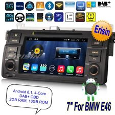 TNT Autoradio BMW E46 MG ZT Rover 75 3 Series M3 Android 8.1 DAB+ GPS DVR 3346FR