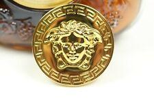 Medusa vintage classic legend retro embossed fashion DIY gold silver belt buckle