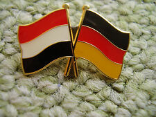 Pin Flaggenpin Freundschaftspin Deutschland Jemen Germany Arabien Vorderasien