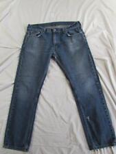 Levi 511 Super Slim Skinny Fit Faded Denim Jeans Tag 36x30 Measure 36x31