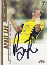 2003/04 Cricket - Brett Lee Autograph Card #SS03 (Ikon Collectables)