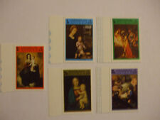 Antigua Christmas 1973 Stamps pack of five.