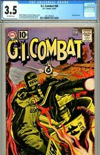 G.I. Combat #89 CGC GRADED 3.5 - grey tone cover - 3rd app of the Haunted Tank