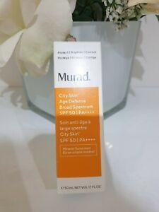 Murad City Skin Age Defense Broad Spectrum SPF 50 50ml - BRAND NEW