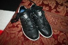 New listing K-Swiss-- Men's Black with White Tennis Shoes--Size 7