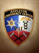 Appleton Wisconsin Police Sheriff Dispatch Communications Patch