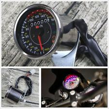 Motorcycle Odometer Speedometer w/ N Gear Turn Signal Fuel Level Indicator Light