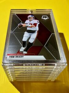 Tom Brady HOT 2020 PANINI MOSAIC TAMPA BAY BUCCANEERS INVESTMENT CARD - Mint!