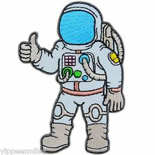 Space Explorer Astronaut Plane Airplane Galaxy NASA Apollo Iron On Patches #0405