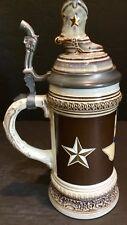 1986 Ohi 150 Years Texas German Heritage Sesquicentennial Beer Stein W/ Lid