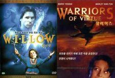 [DVD] Willow (1988) + Warriors Of Virtue (1997) 2-DVD SET *NEW