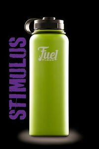 Hydro Flask-LIME GREEN 40oz-Wide Mouth Stainless Fuel Flask Water Bottle