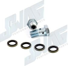 03-10 For 6.0L Powerstroke Diesel Updated Banjo Bolts & Washers - 6.4L Upgrade