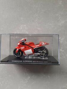 Yamaha YZR 500 Max Biaggi 2001 model motorcycle.