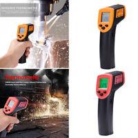 Digitale Infrarot Thermometer Kontaktlose  Temperatur Pyrometer Meter Gun