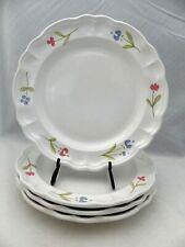 """Pfaltzgraff Garland pattern - set/lot of 4 Dinner plates - 10 1/2"""" - EUC - 1991"""