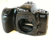 Minolta Dynax 500 si AF fotocamera reflex analogica film autofocus solo corpo