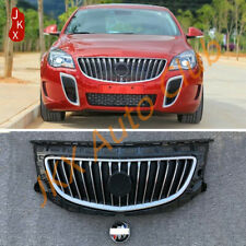 For Buick Regal 14~2016 NEW Chrome Bumper ABS j Front Upper Grille Grill Assy