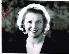 """BARBARA BARONDES SILENT MOVIE ACTRESS """"UNKNOWN BLONDE"""" SIGNED PHOTO AUTOGRAPH"""
