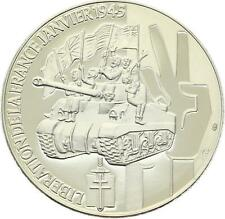 O4162 Médaille Libération France Janvier 1945 Char Leclerc PROOF PF BE ->F offre