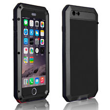 Shockproof Aluminum Metal Case Cover Gorilla Glass for iPhone Samsung S7 Edge/S8