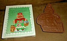 Longaberger Pottery Ginger Cookie Mold in Box