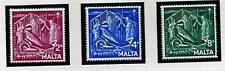 Mint Hinged Elizabeth II (1952-Now) Malta Stamps (Pre-1964)