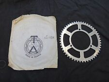 TA CRANK CHAINRING 52 TEETH VINTAGE NOS T.A. 243 ROAD TOURING 3 BOLT CHAIN WHEEL