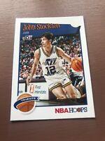 2019-20 Panini NBA Hoops Basketball Tribute 292 John Stockton