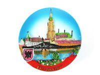 Frankfurt Hessen Römer Germany Poly Magnet Souvenir Deutschland,Neu