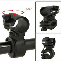 360 Rotation Cycling Bicycle Bike Flashlight LED Torch Bracket Mount Holder dH