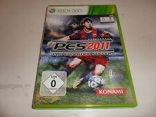 XBOX 360 PES 2011-Pro Evolution Soccer