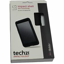 OEM TECH21 Impactology LG Optimus F6 Impact Shell Cover Case BLACK
