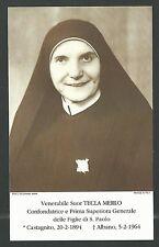 Estampa de la Beata Tecla andachtsbild santino holy card santini