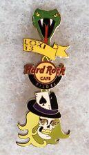 HARD ROCK CAFE BILOXI SKULL GUITAR GEM EYES VIPER GUITAR HEADSTOCK PIN # 72184
