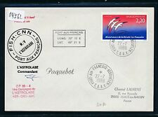 04562) Antarktis Frankreich SP Paquebot Astrolabe... 27.7.89 TAAF