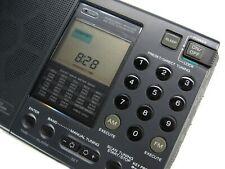 SONY ICF SW7600 Stereo Portable Compact World Radio Shortwave LW MW SW FM Black