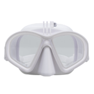 DivePRO Dive Mask Shadow with GoPro Mount White