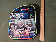 """Disney_Pixar Toy Story (LUNCH BAG_TOTE) """"Heroes In Training"""" (CLEAN) F. SHIP"""