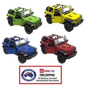 1 X DIECAST JEEP WRANGLER 2018 13CM model alloy SUV collectible car stocking