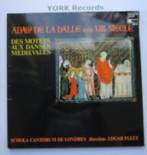 HMU 443 - ADAM DE LA HALLE - Des Motets Aux Danses Medievales - Ex Con LP Record