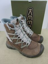 KEEN HOODOO III LACE UP 1017729 COCONUT/PLAZA TAUPE WOMENS LACE UP HIKING BOOT