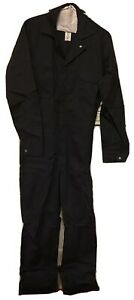 Vintage NEW! NOS Bulwark Black ARC RATING 11.2 ATPV Coverall 38 Reg Protective