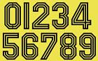 Vinyl 1970s 80's 90's Football Shirt Soccer Numbers Heat Print Football Adidas A
