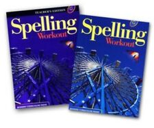 7th Grade 7 MCP Spelling Workout Level G Homeschooling Kit Homeschool Curriculum
