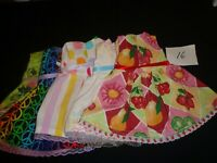 doll dress for 18 inch american girl lot of 5 assorted handmade 16