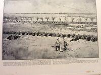 m17c8 ephemera ww1 picture battle of galicia 1915 the lagoon russian front
