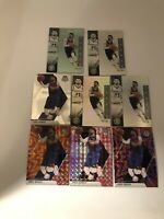 2019-20 Panini Mosaic Jamal Murray Orange/blue/pink Reactive 8 Card Lot