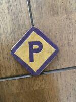 Original German Ww2 WwII Forced Labor Polish Patch