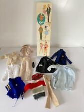 Vintage 1960's Mattel Ken Barbie doll clothes lot & doll box